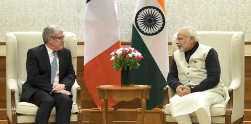 Indo-French agreement on maritime information exchange