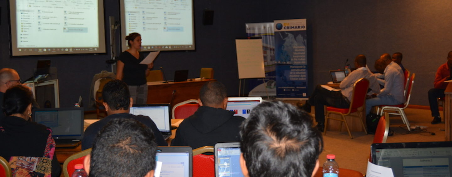 A new session within the training in data analysis