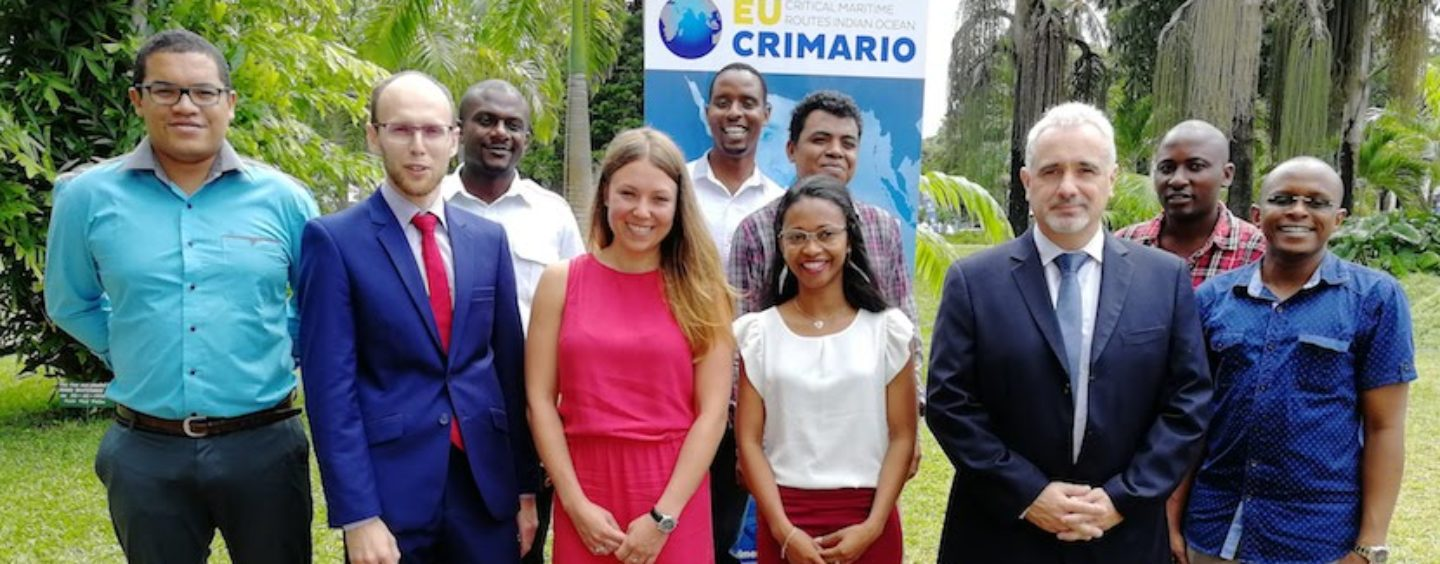 CRIMARIO trains trainers on maritime data processing