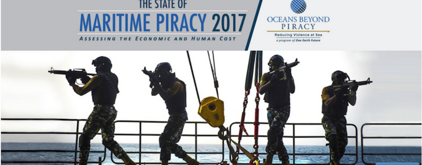 State of Maritime Piracy 2017