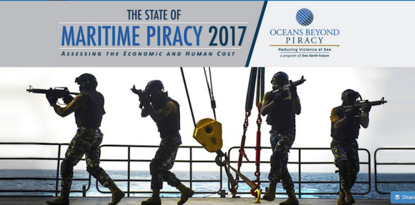 Situation de la piraterie maritime en 2017
