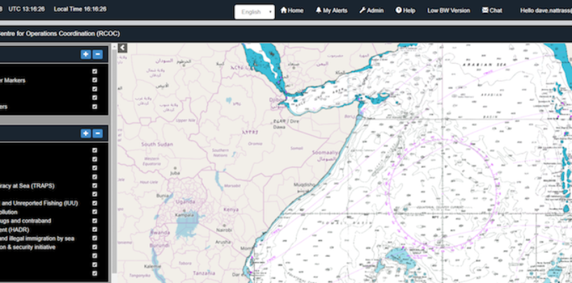 IORIS, Indian Ocean Regional Information Sharing platform, operational
