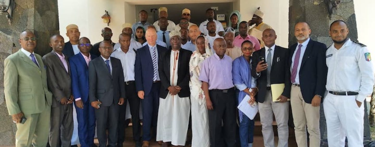 Training in Comoros: how the shipping works?