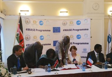 France and Kenya sign two regional maritime security agreements