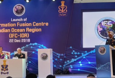 Information Fusion Centre – Indian Ocean Region (IFC-IOR) is launched