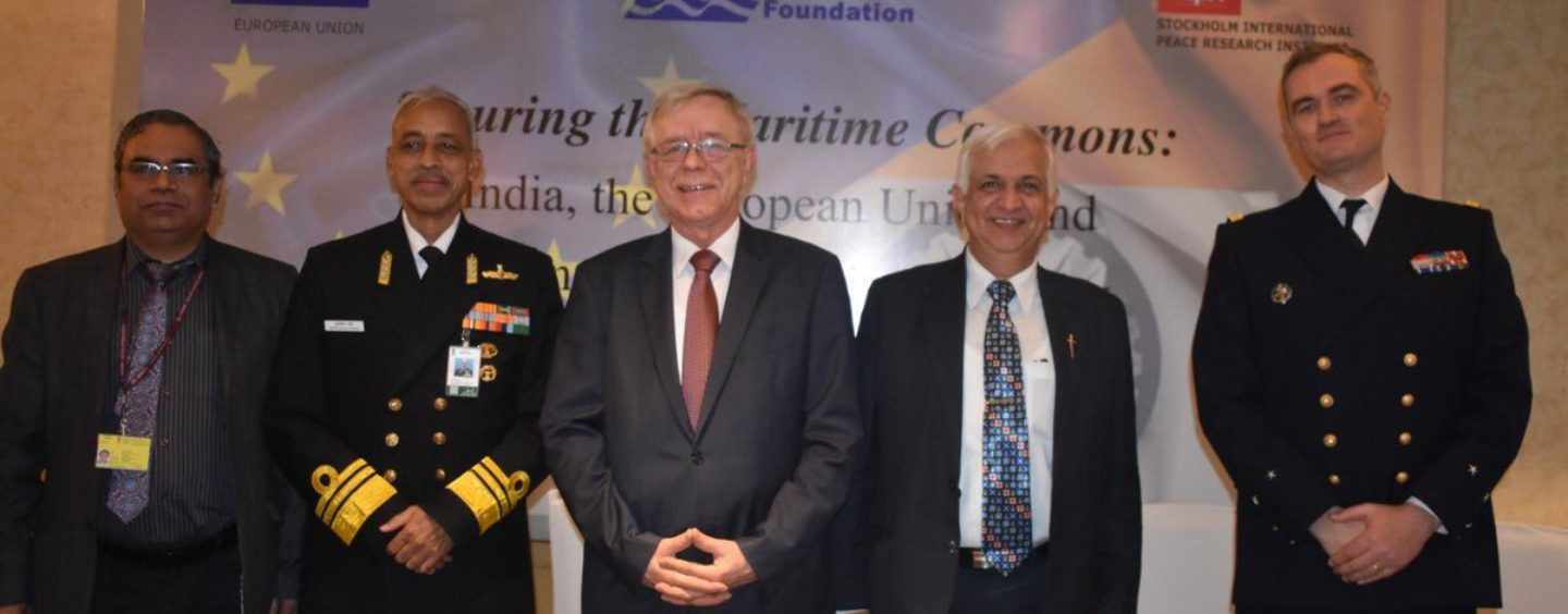 Crimario at 1st EU-India conference on maritime security