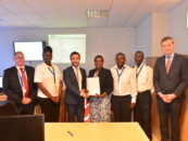 Kenya coastal AIS network equipped by European Union CRIMARIO project