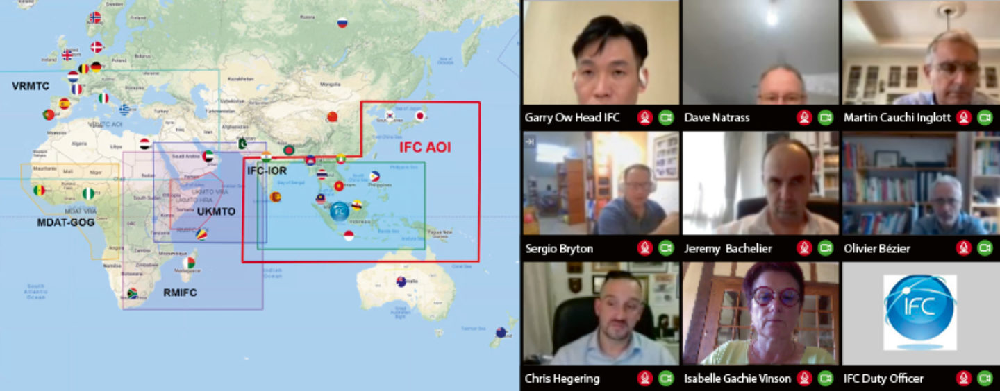 IFC Singapore and EU CRIMARIO discuss maritime information sharing in Indian Ocean and Asia