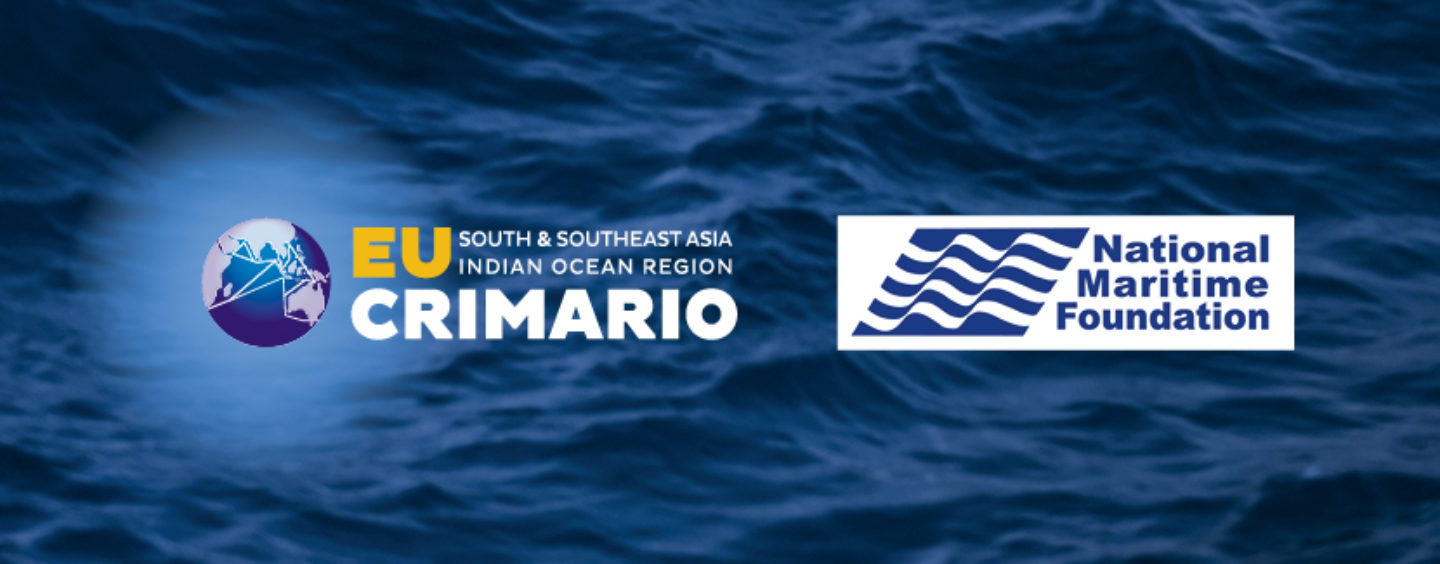 Indian National Maritime Foundation, EU CRIMARIO share views on maritime security & cooperation in Indian Ocean
