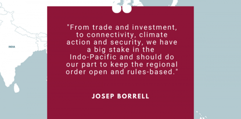 Indo-Pacific: Council adopts conclusions on EU strategy for cooperation